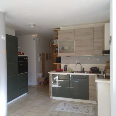 Küche-Eingang